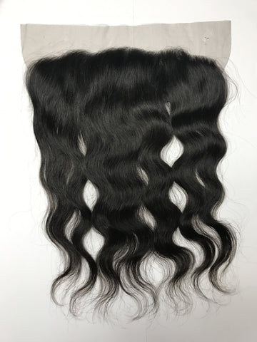 VIP Brazilian Virgin Hair 4 x 13 Lace Frontal Closure / Natural Curl - beautygiantusa.com