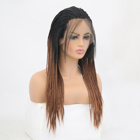 VIP - Synthetic Lace Front Wig Braided - beautygiantusa.com