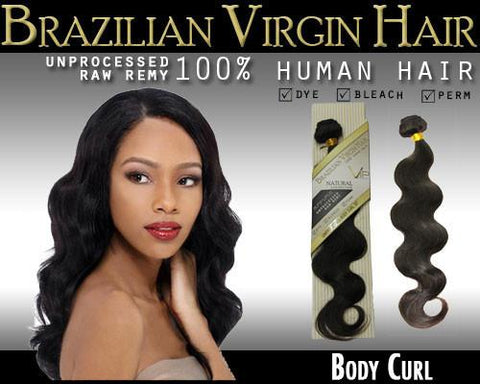 VIP Collection Brazilian Virgin Hair /  Body Curl - VIP Extensions