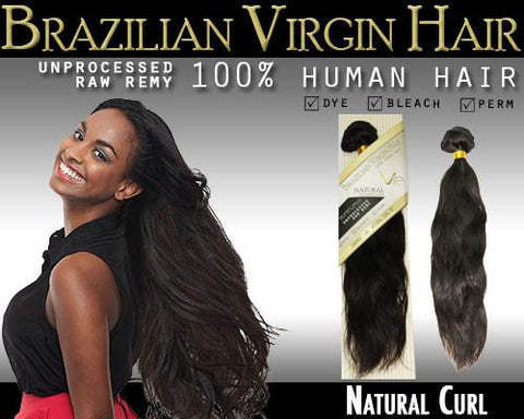 VIP Collection Brazilian Virgin Hair / Natural Curl - VIP Extensions