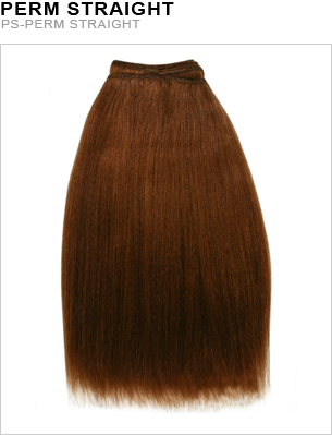 Unique's Human Hair Perm Straight 10 Inch - beautygiantusa.com