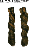 Unique Human Hair Silky Yaki Body Twist 8 Inch - VIP Extensions