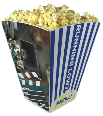 2020 Refillable Popcorn Bucket
