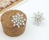Snow Flake Stud Earrings