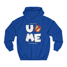 "Load image into Gallery viewer, ""U Can't 👀 Me"" Unisex College Hoodie"