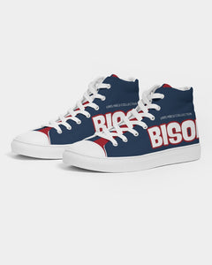 BISON Men's Hightop Canvas Shoe