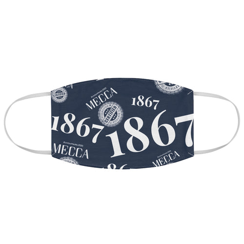 """MECCA CERTIFIED 1867"" Fabric Face Mask"
