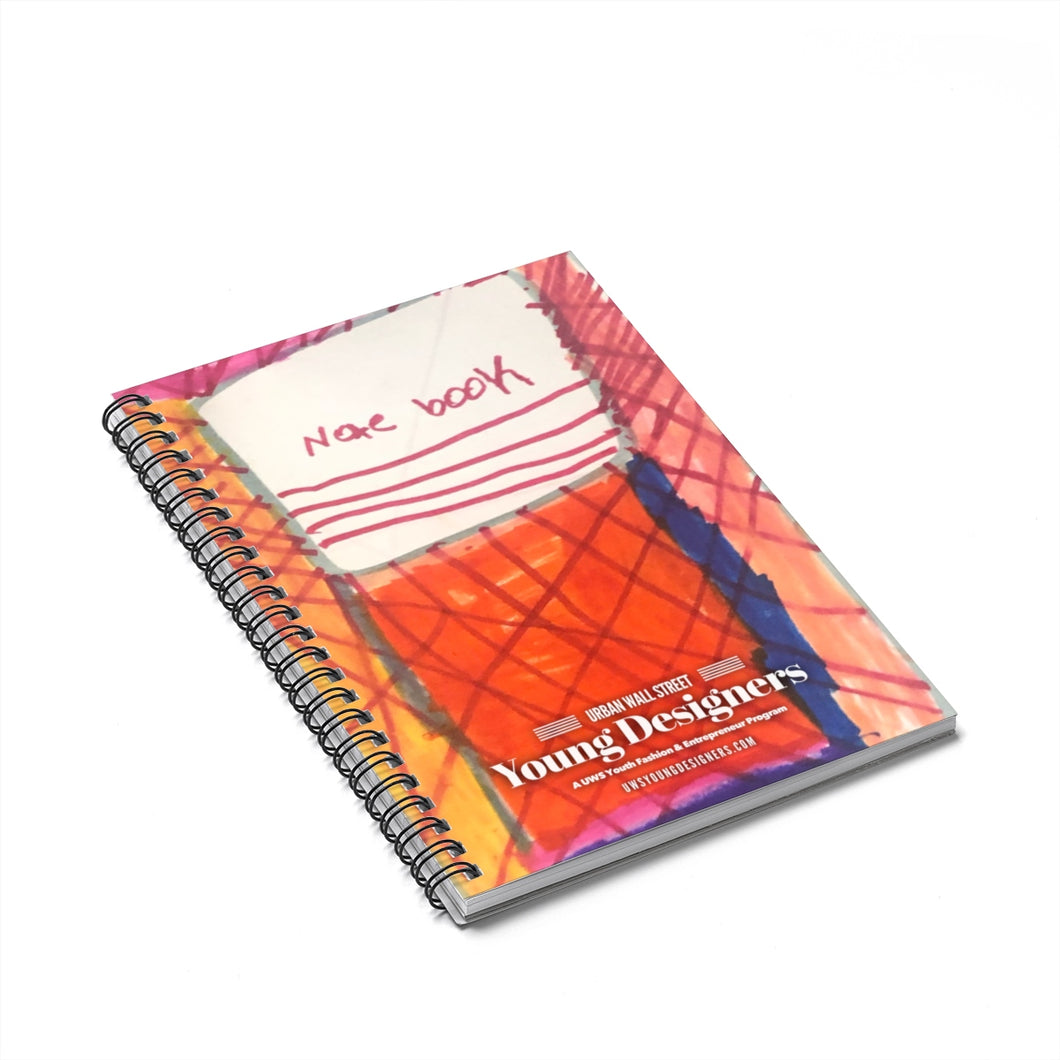 Yeilyn Spiral Notebook - Ruled Line