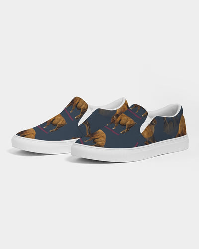 BISON Women's Slip-On Canvas Shoe