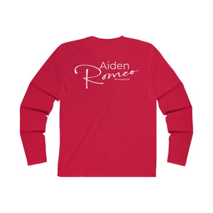Aiden Romeo Men's Long Sleeve Crew Tee