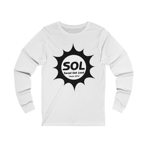 SAVED OUT LOUD Unisex Jersey Long Sleeve Tee