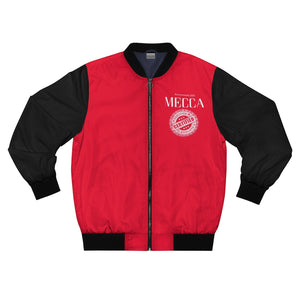 """MECCA CERTIFIED"" Men's AOP Bomber Jacket"