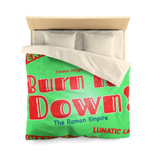 "Load image into Gallery viewer, ""Burn It Down"" Microfiber Duvet Cover"
