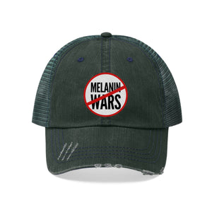 No Melanin Wars Unisex Trucker Hat