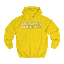 "Load image into Gallery viewer, ""NC A&T Made Me"" Unisex College Hoodie"