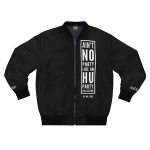 """Ain't No Party Like An HU Party"" Men's AOP Bomber Jacket"