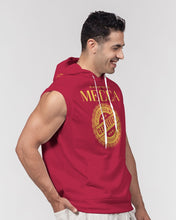 Load image into Gallery viewer, MECCA CERTIFIED Men's Premium Heavyweight Sleeveless Hoodie