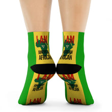 Load image into Gallery viewer, American African Crew Socks