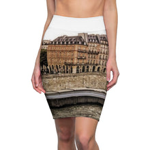 Load image into Gallery viewer, B.E.T Paris River Women's Pencil Skirt