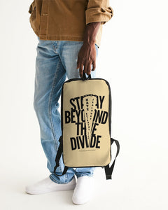 STAY BEYOND THE DIVIDE Slim Tech Backpack