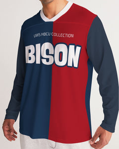 BISON Men's Long Sleeve Sports Jersey