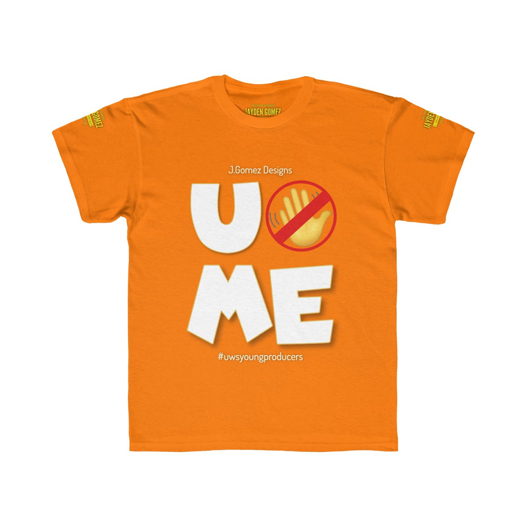 """U Can't 👀 Me"" Kids Regular Fit Tee"