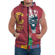 Load image into Gallery viewer, Genius Child AOP Sleeveless Hoodie