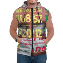 Load image into Gallery viewer, Time Collection AOP Sleeveless Hoodie