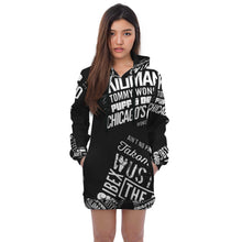 "Load image into Gallery viewer, ""Ain't No Party Like An HU Party"" Hoodie Dress"