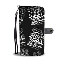 "Load image into Gallery viewer, ""Ain't No Party Like An HU Party"" Wallet Phone Case"
