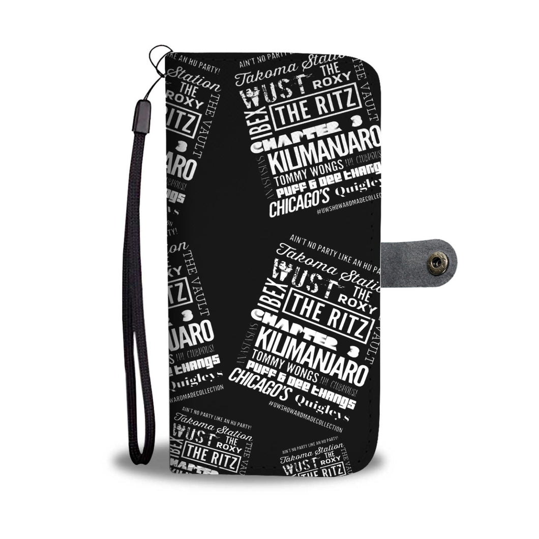 """Ain't No Party Like An HU Party"" Wallet Phone Case"