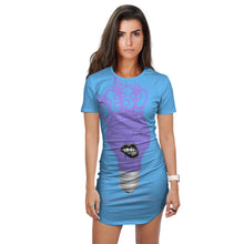 Load image into Gallery viewer, Genius Child LE CUSTOM AOP T-Shirt Dress