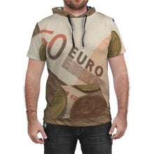 Load image into Gallery viewer, B.E.T Paris (Euro) CUSTOM AOP SS Hooded Tee