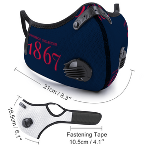 1867 Face Cover Outdoor Dust Proof Face Cover