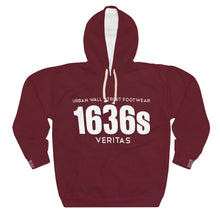 Load image into Gallery viewer, 1636s AOP Unisex Pullover Hoodie
