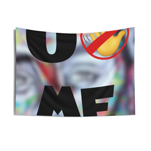 """U Can't 👀 Me"" Indoor Wall Tapestries"
