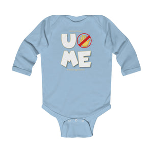 """U Can't 👀 Me"" Infant Long Sleeve Bodysuit"