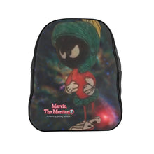 Load image into Gallery viewer, Marvin Martian School Backpack Artwork by Jeremy J.