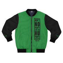 "Load image into Gallery viewer, ""ANPLAHUP"" Men's AOP Bomber Jacket"