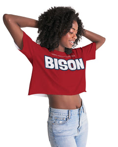 BISON Women's Lounge Cropped Tee