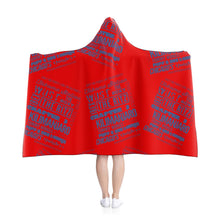 "Load image into Gallery viewer, ""ANPLAHUP"" Hooded Blanket"