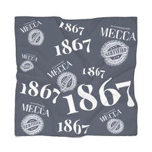 Load image into Gallery viewer, MECCA CERTIFIED 1867 Poly Scarf