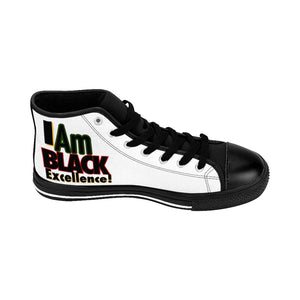I AM BLACK EXCELLENCE Men's High-top Sneakers