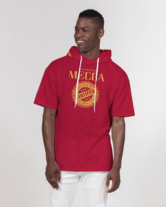 MECCA CERTIFIED Men's Premium Heavyweight Short Sleeve Hoodie