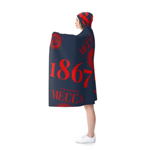 """1867 MECCA CERTIFIED"" Hooded Blanket"