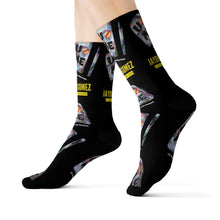 "Load image into Gallery viewer, ""U Can't 👀 Me"" Sublimation Socks"