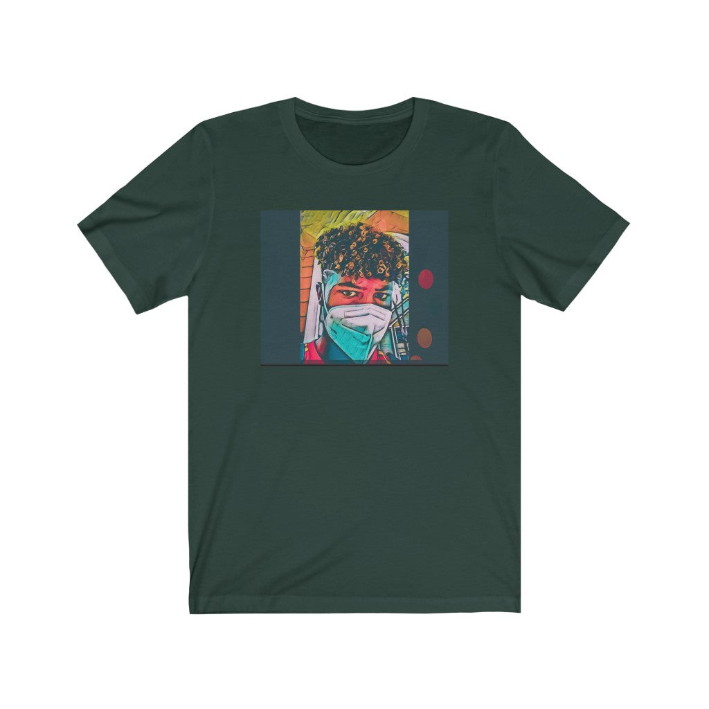 Aiden Romeo MASK Art Unisex Jersey Short Sleeve Tee