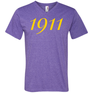 1911 Men's Printed V-Neck T-Shirt