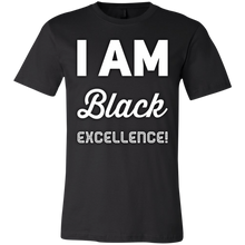 Load image into Gallery viewer, I AM BLACK EXCELLENCE Youth Jersey Short Sleeve T-Shirt