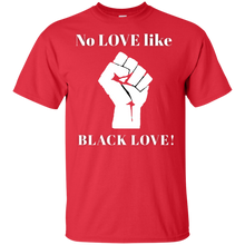 Load image into Gallery viewer, BLACK LOVE Gildan Youth Ultra Cotton T-Shirt
